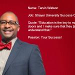 Meet the Success Coaches: Tarvin Watson